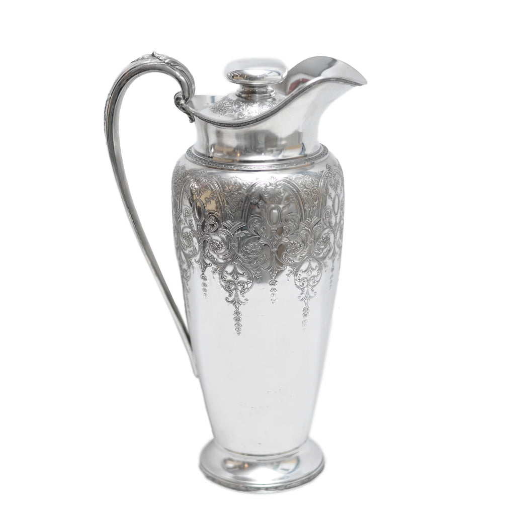 The Hour Shop, Wilcox Silverplate Cocktail Shaker