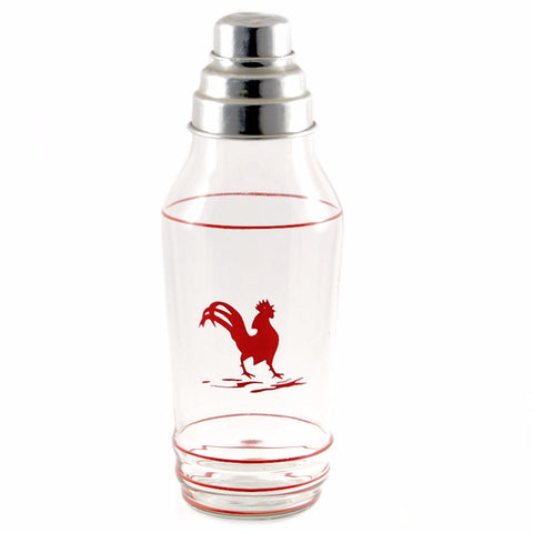 Red Rooster Cocktail Shaker