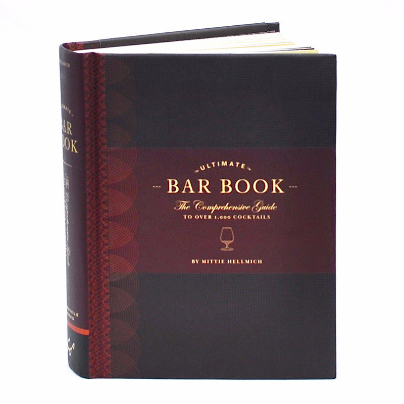 Ultimate Bar Cocktail Recipe Book, The Hour Shop Home Barware