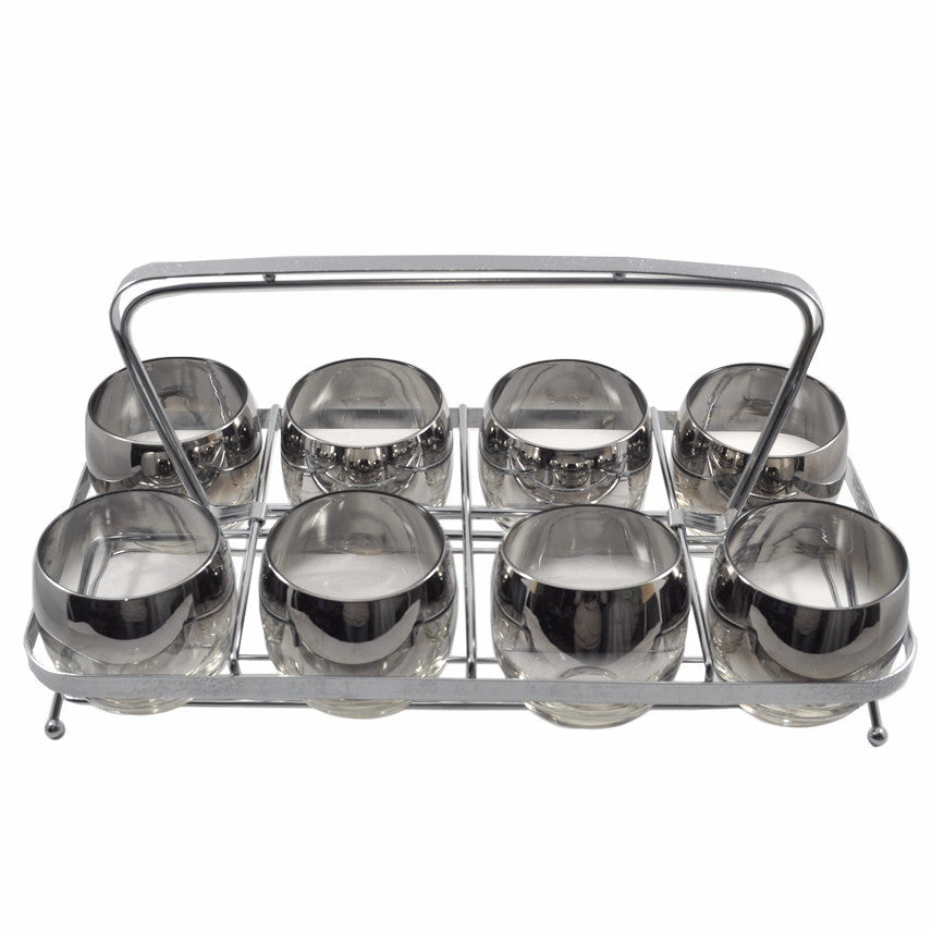 Mercury Fade Roly Poly Caddy Set, The Hour