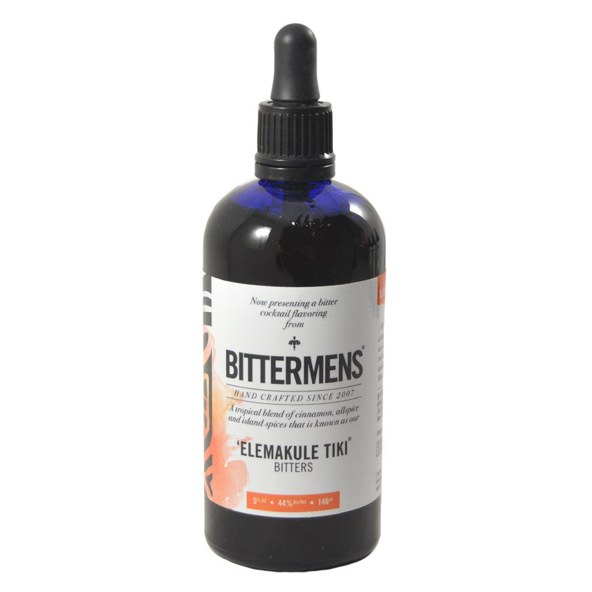 Bittermens Elemakule Tiki Cocktail Bitters, The Hour Shop Barware
