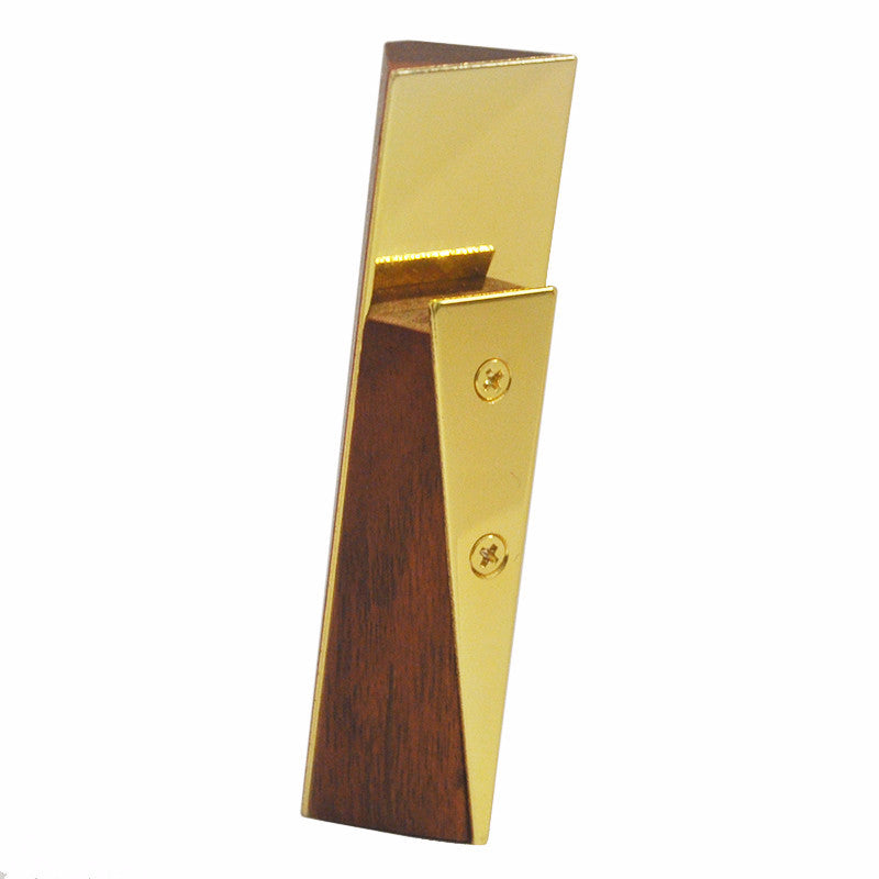 Gold Plated Wood Bottle Opener, The Hour Shop Barware