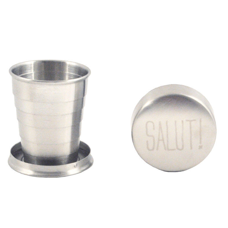 Salut! Collapsible Travel Cup, The Hour Shop Barware