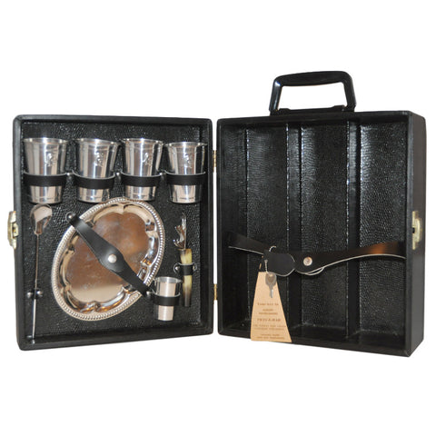 3 Bottle Travel Bar Case