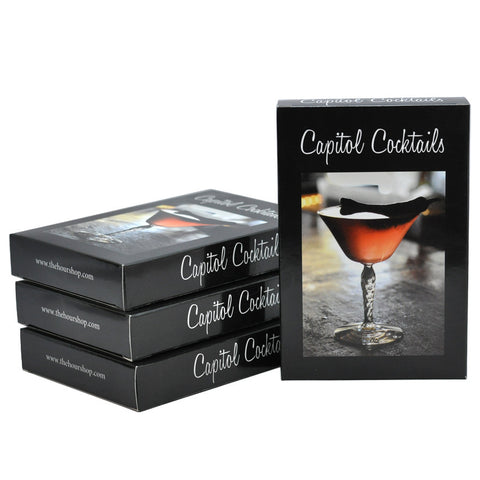 Capitol Cocktails Recipe Cards