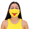 MojiGear™ Tongue Straight Face Mask