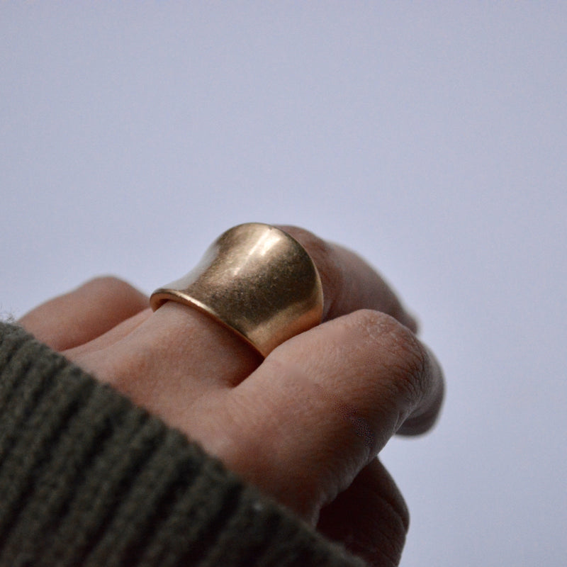 presence and humility ring - beller