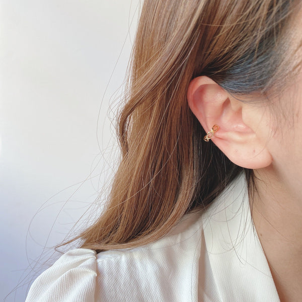 braided bread ear cuff
