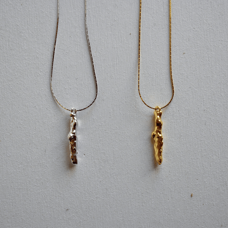 twig necklace - beller