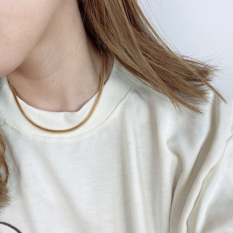 simple chain necklace - beller
