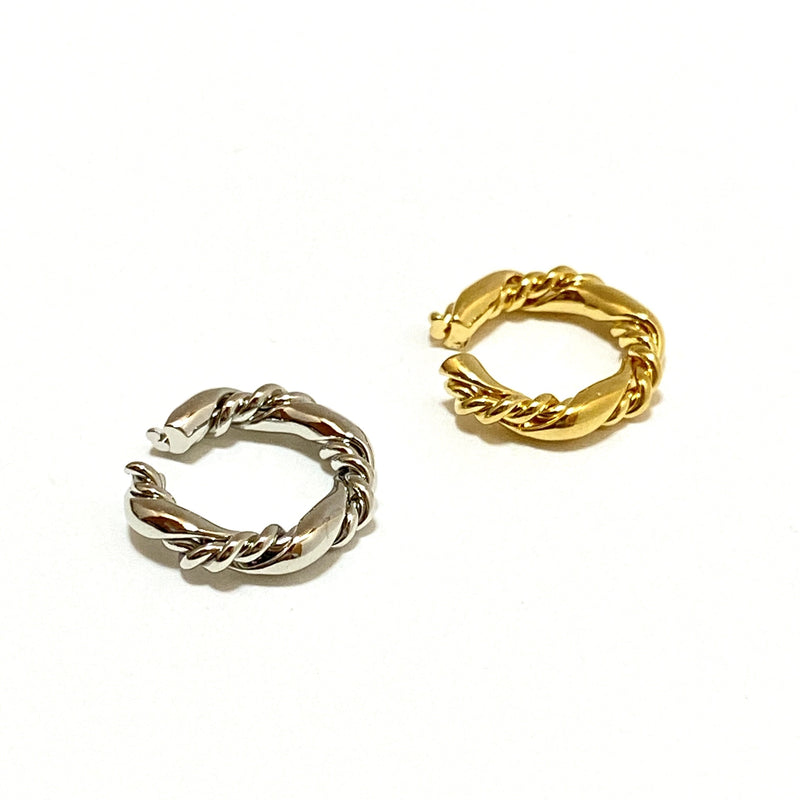elegant rope ear cuff - beller