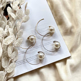pearl hoop pierce - beller