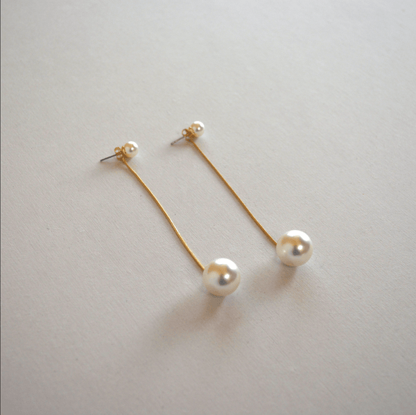 dangle pearl pierce