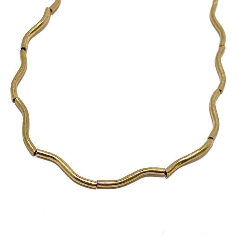 crooked line choker - beller
