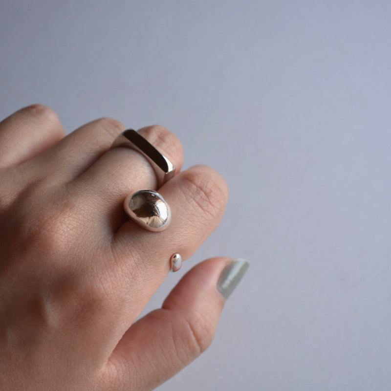 flat shape ring