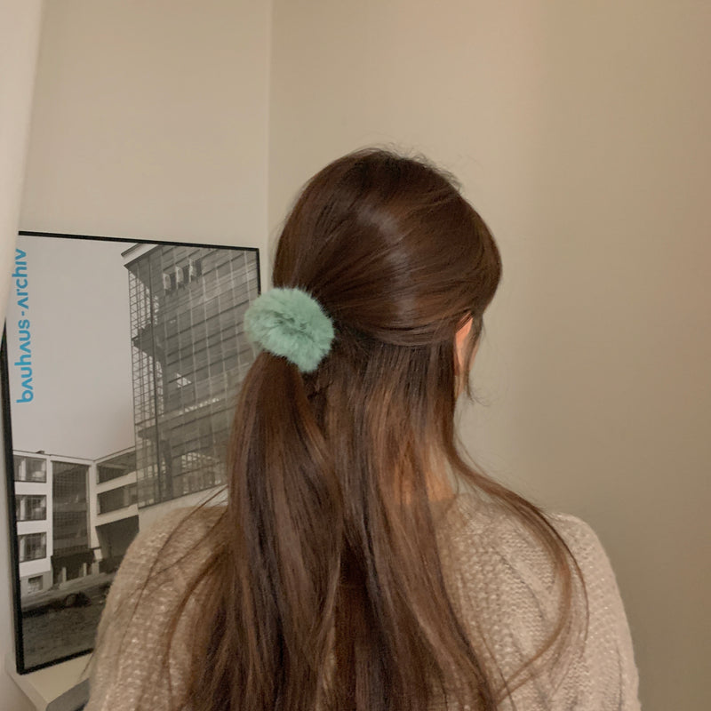 colorful softly scrunchie