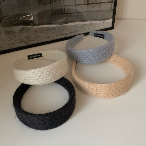 color knit hearband