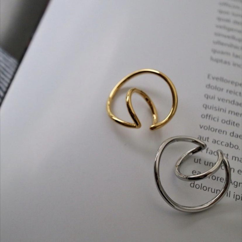 ring & ring ear cuff - beller