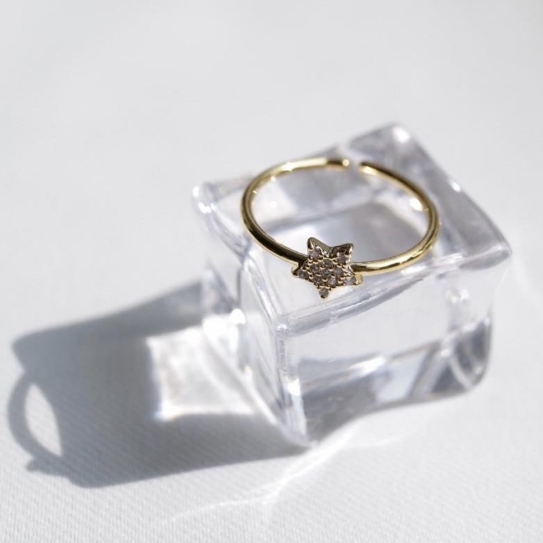 zir star ring - beller