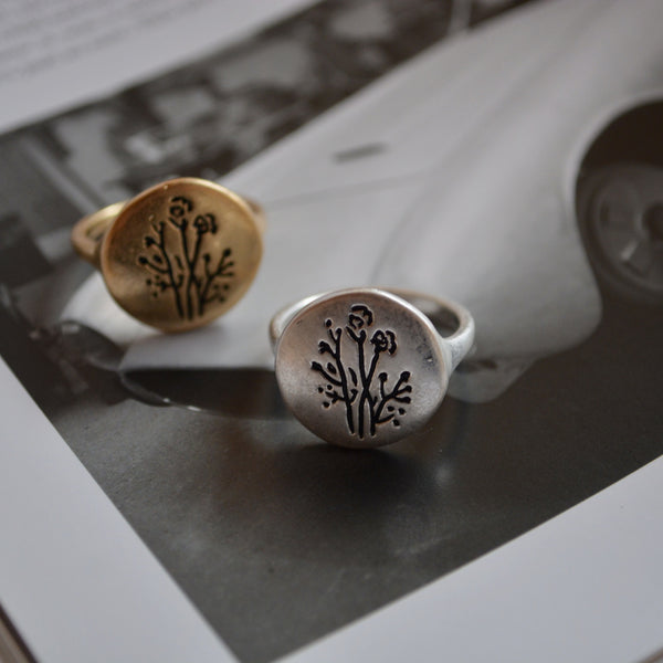 to flowering plant ring - beller