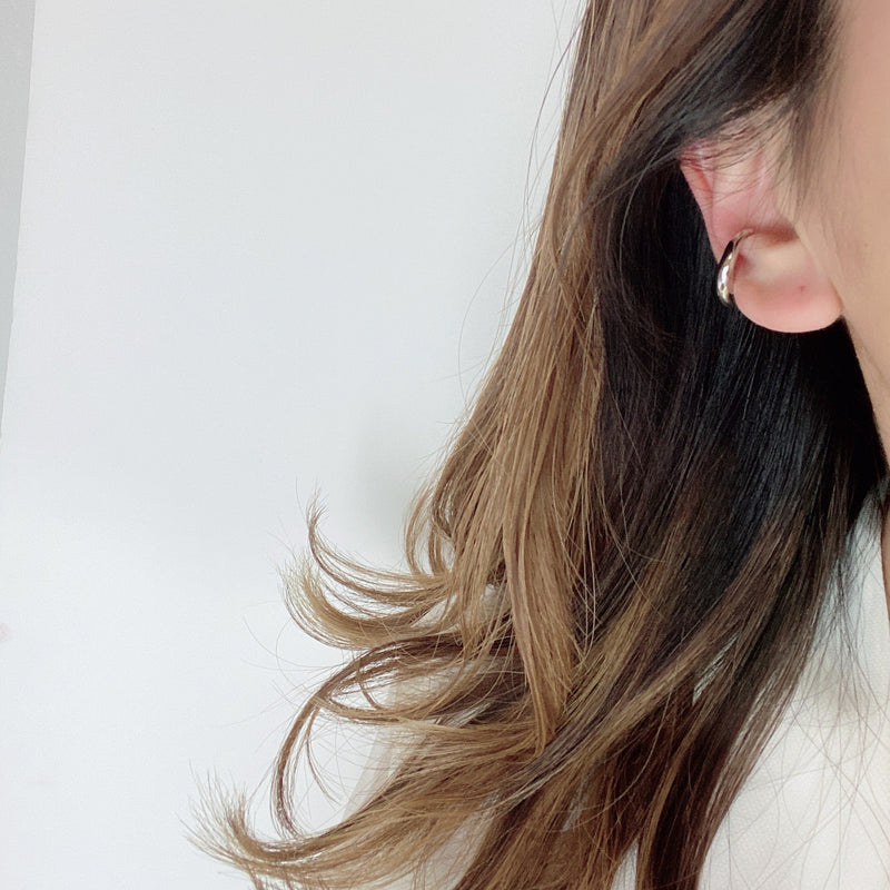 fluffy clouds ear cuff - beller