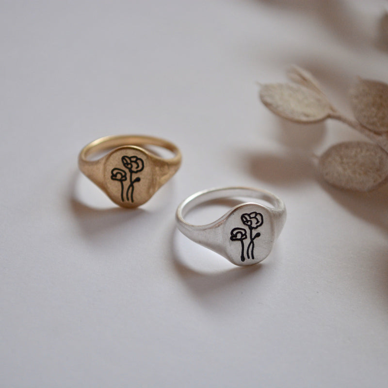 to flower ring