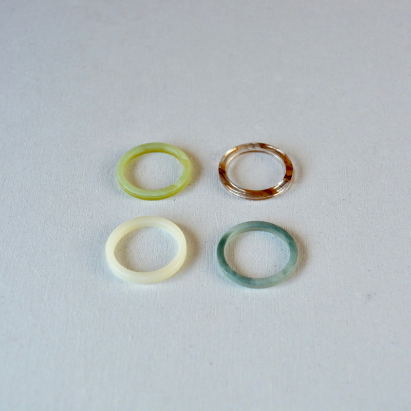 color acryl ring