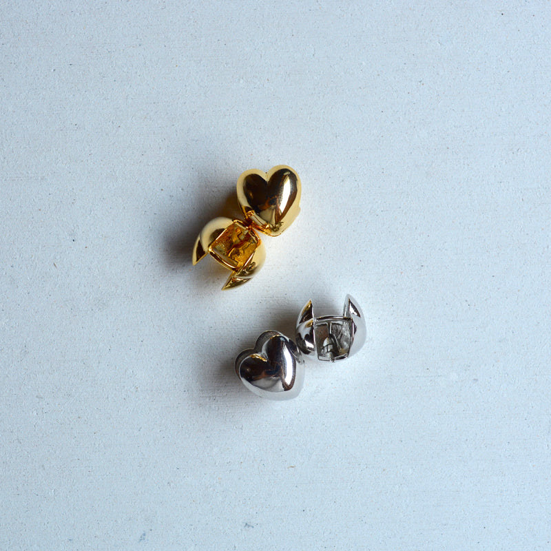 heart clip pierce
