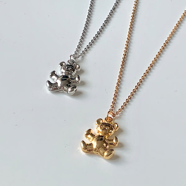 charming bear necklace