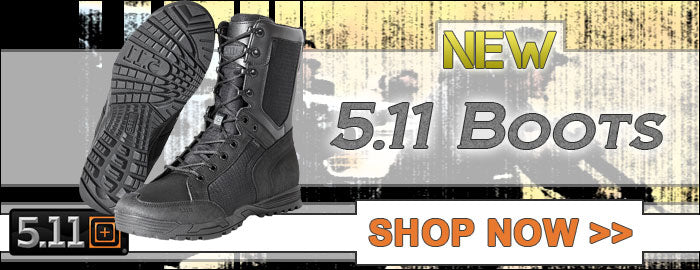 New 5.11 Boots