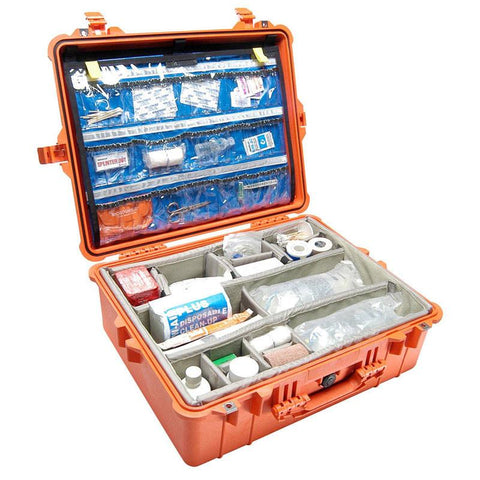 Pelican 1600EMS Case With EMS Organizer and Dividers - mtrsuperstore