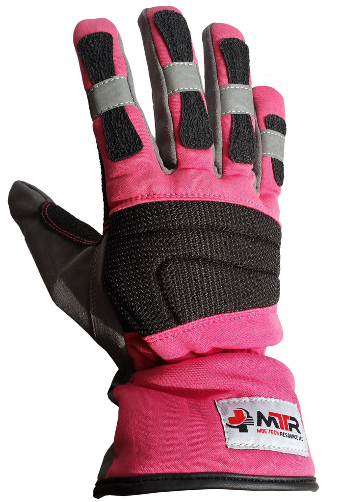 Mtr Reflective Pink Extrication Gloves Mtrsuperstore