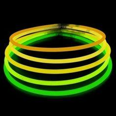 25 (yellow/green) Glow Necklace Lightstick - mtrsuperstore