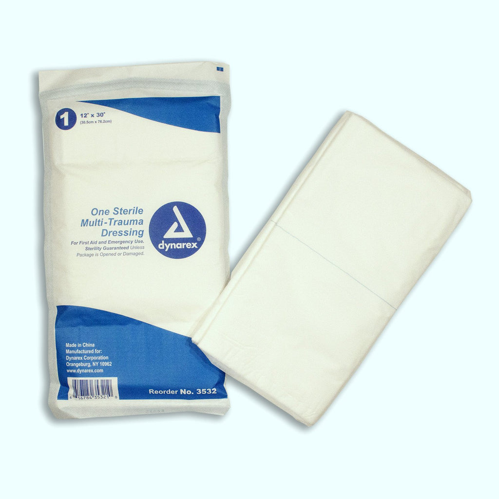 Multi Trauma Dressing Sterile - Case of 50 - mtrsuperstore