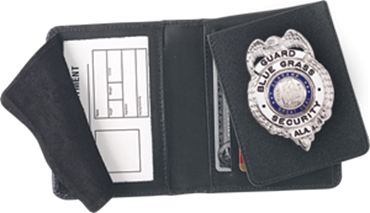Badge Case with Flap