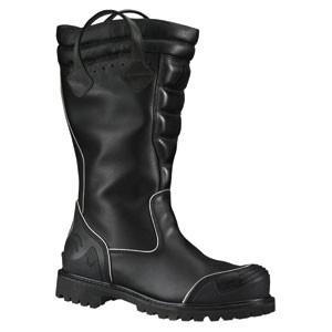 "Women's Weinbrenner Thorogood Leather 14"" Power HV Structural Bunker Boot - mtrsuperstore"