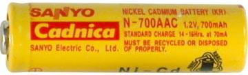 AA NICD Battery - Rechargable - mtrsuperstore