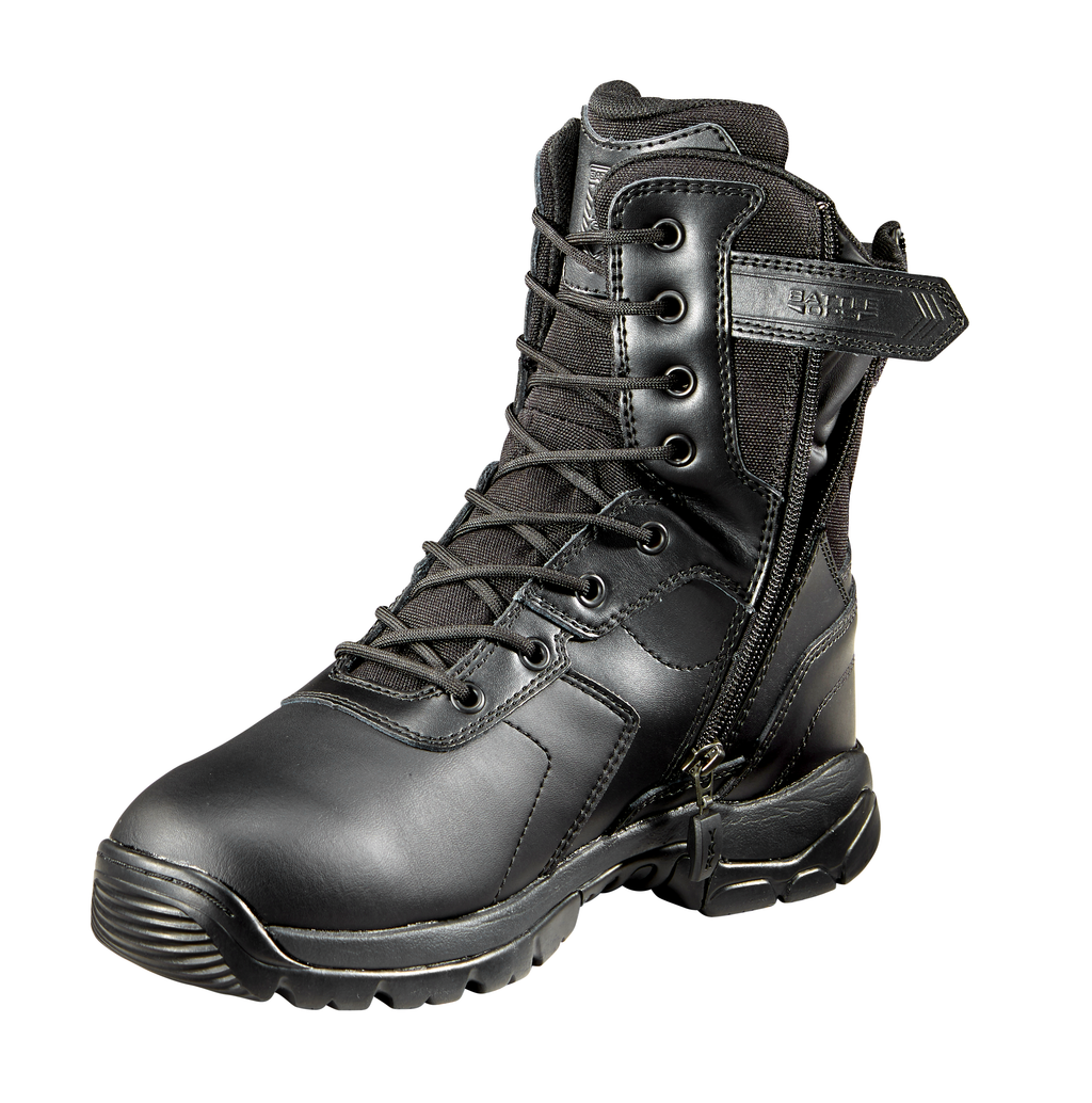 BLACK DIAMOND 8-INCH WATERPROOF SIDE ZIP TACTICAL BOOT