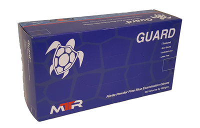 MTR Guard and Bolt Nitrile Gloves - Chemo and Fentanyl approved - Bulk - mtrsuperstore