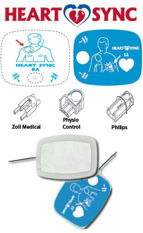 Physio Control Defibrillation Pacing Pads Mtr