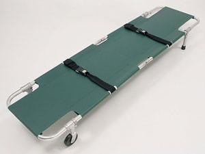 Junkin Easy-Fold Wheeled Stretcher - mtrsuperstore