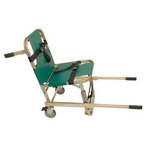 Junkin Stair Chair with Extended Handles  Four Wheels - mtrsuperstore