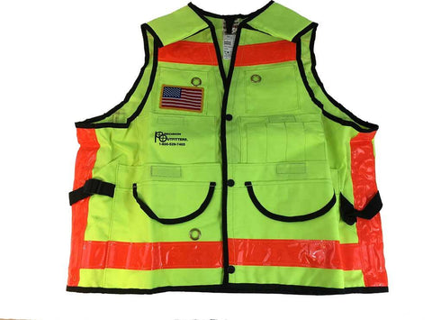 MTR Class II Traffic Safety Vest