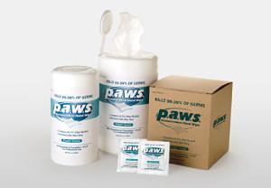 PAWS Antimicrobial Wipes