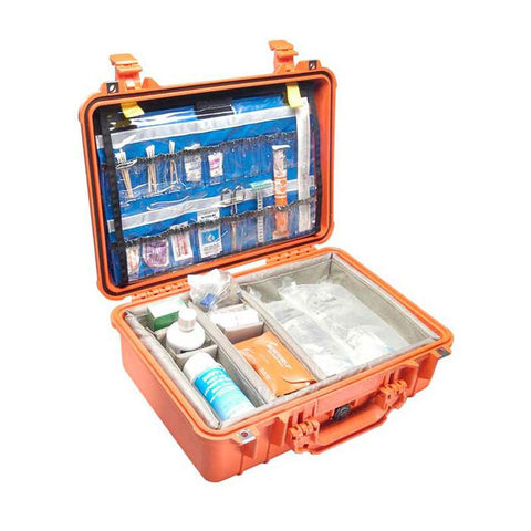 Pelican 1500EMS Case With EMS Organizer and Dividers - mtrsuperstore