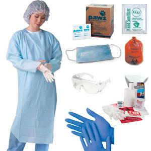 Deluxe Influenza Protection Kit - mtrsuperstore