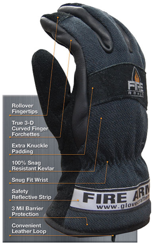 Glove Crafters: Fire Armor Structural Fire Glove