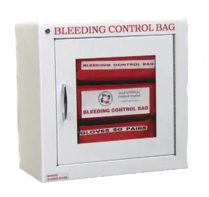Bleeding Control Kit Cabinet with Alarm