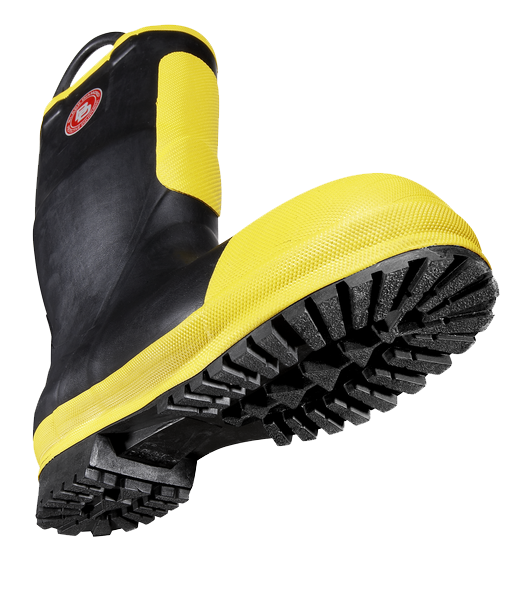Black Diamond RUBBER FIREFIGHTER BOOT - mtrsuperstore