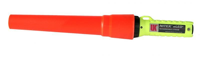 UK 4AA Flashlight Traffic Wand - mtrsuperstore